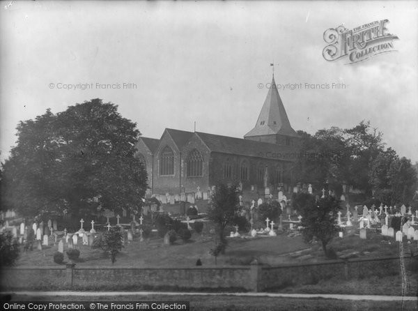 Photo of Westerham, Church Of St Mary The Virgin 1925