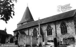 Westerham, Church Of  St Mary The Virgin c.1960
