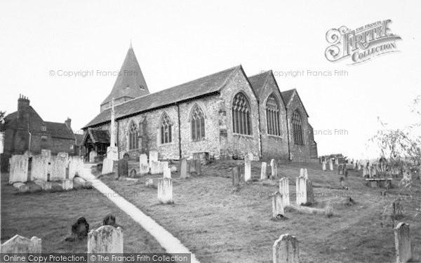 Photo of Westerham, Church Of St Mary The Virgin c.1960
