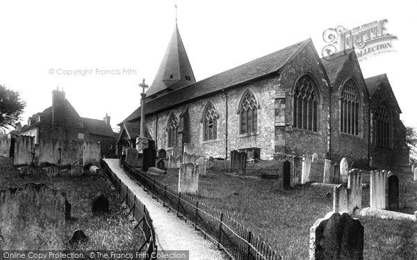 Photo of Westerham, Church Of St Mary The Virgin From The South East 1925