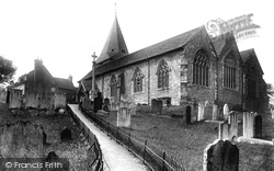 Westerham, Church Of St Mary The Virgin From The South East 1925