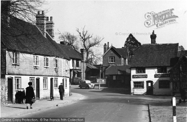 Photo of Westerham, From West End c.1955