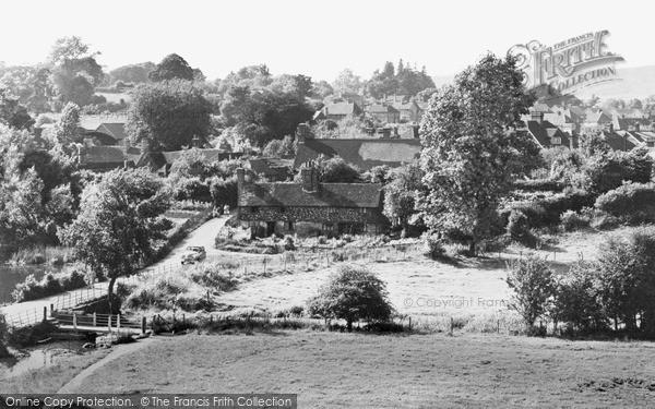 Photo of Westerham, General View c.1955