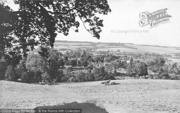 Photo of Westerham, General View c.1955