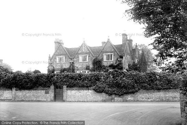 Photo of Westerham, General Wolfe's House 1925