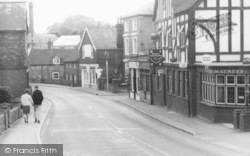 High Street And The Royal Standard c.1960, Westerham