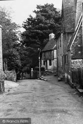 Westerham, Lodge Lane c.1955