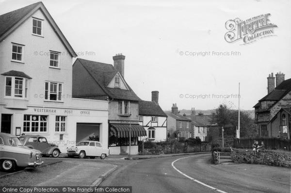 Photo of Westerham, London Road c.1960