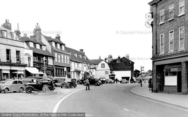 Photo of Westerham, Market Square c.1955
