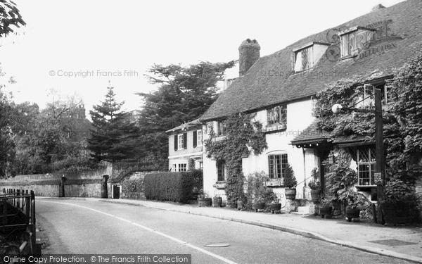 Photo of Westerham, Pitts Cottage c.1955