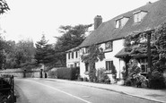 Westerham, Pitts Cottage c1955