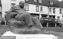 Westerham, Sir Winston Churchill Statue c.1965