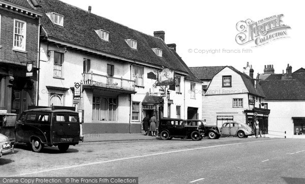 Photo of Westerham, the George and Dragon c1955