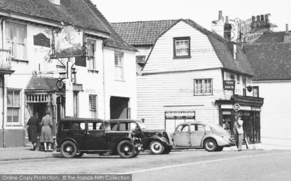 Photo of Westerham, The George And Dragon c.1955