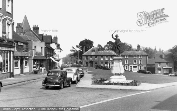 Photo of Westerham, The Green c.1955