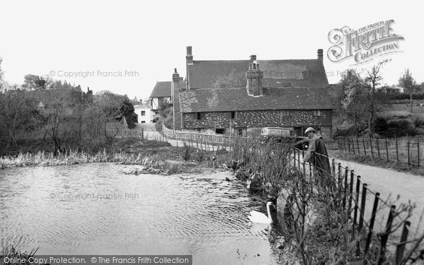 Photo of Westerham, The Mill Pond c.1955
