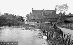 The Mill Pond c.1955, Westerham