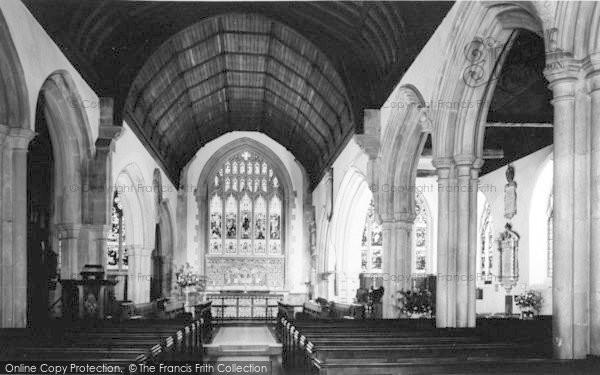 Photo of Westerham, The Parish Church, Interior c.1960