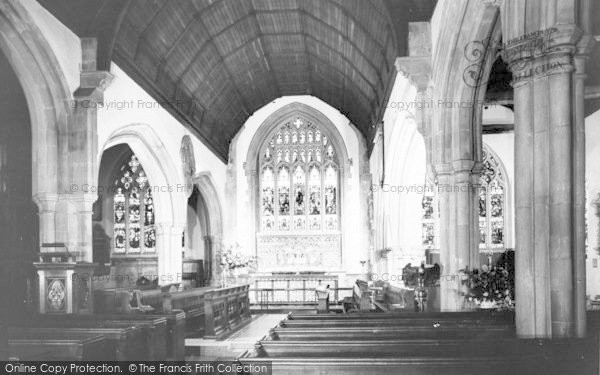 Photo of Westerham, The Parish Church, Interior c.1960