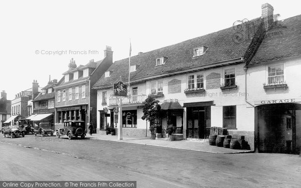 Photo of Westerham, the Village 1925
