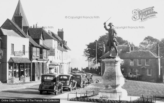 Photo of Westerham, The War Memorial c.1955