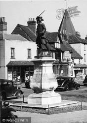 Westerham, The Wolfe Monument c.1955