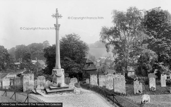 Photo of Westerham, War Memorial 1925