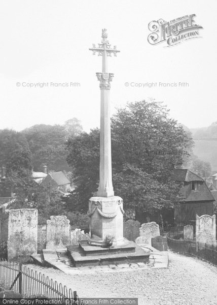 Photo of Westerham, War Memorial 1925