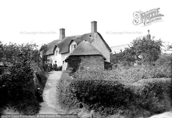 Photo of Westford, Old Cottages 1907