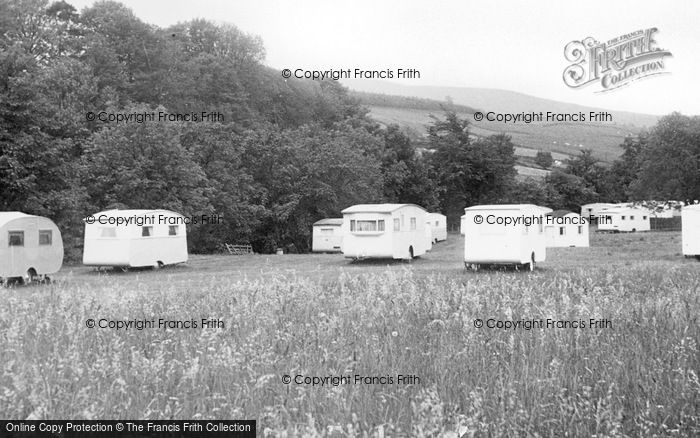Photo of Westgate, Caravan Camping Site c.1955