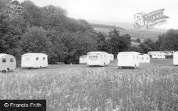 Westgate, Caravan Camping Site c.1955