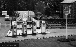 Filling Station c.1960, Westgate