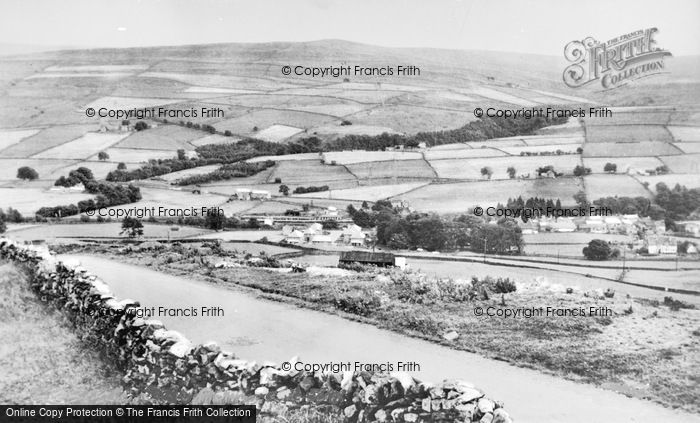 Photo of Westgate, From Peat Hill c.1955