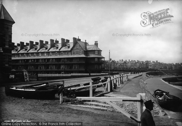 Photo of Westgate On Sea, 1889