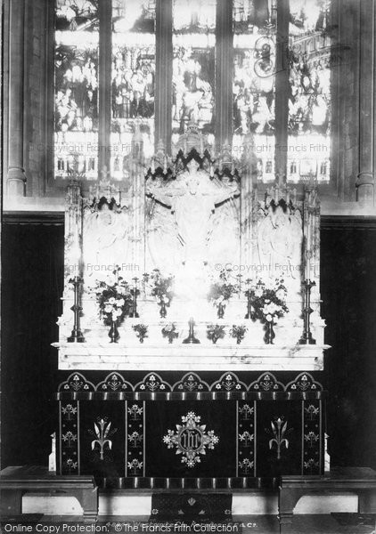 Photo of Westgate On Sea, Church Reredos 1902