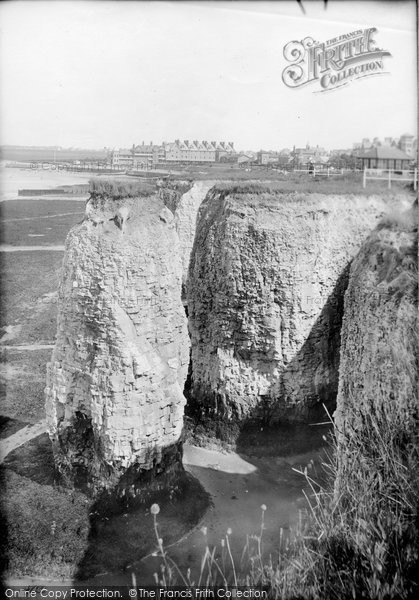 Photo of Westgate On Sea, Cliffs 1890