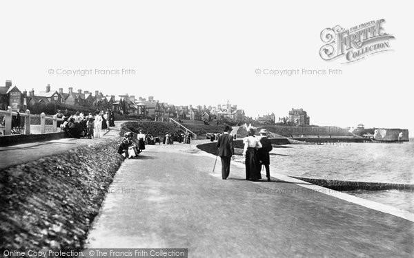 Photo of Westgate On Sea, Esplanade 1897