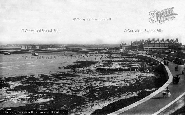 Photo of Westgate On Sea, Esplanade 1899