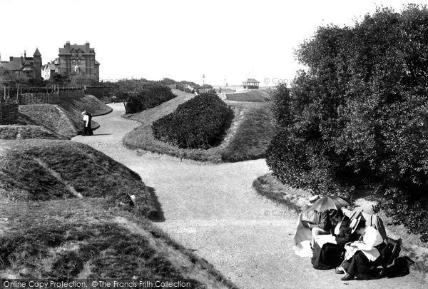 Photo of Westgate On Sea, Esplanade Gardens 1899