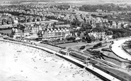Westgate on Sea, from the air c1955