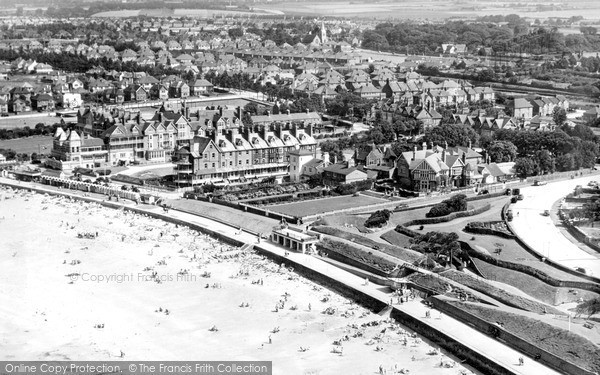 Photo of Westgate on Sea, from the air c1955
