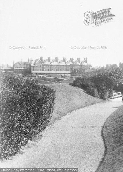 Photo of Westgate On Sea, From The Esplanade Gardens 1899