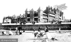 Westgate On Sea, Hotels And Beach 1890