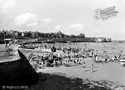 St Mildred's Bay c.1955, Westgate On Sea