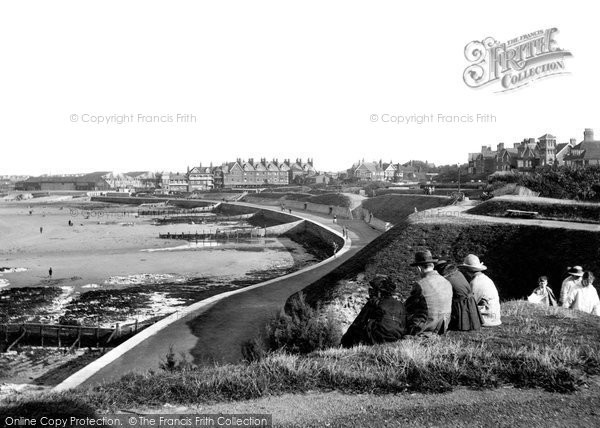 Photo of Westgate On Sea, St Mildred's Bay, Looking East 1918