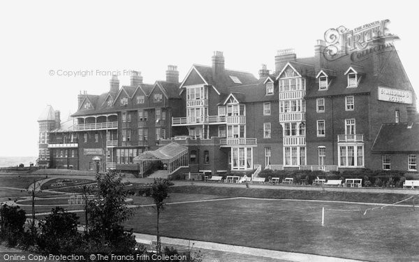 Westgate-On-Sea, St Mildred's Hotel and Baths 1907