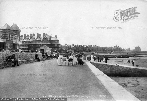 Photo of Westgate On Sea, St Mildreds Bay 1907
