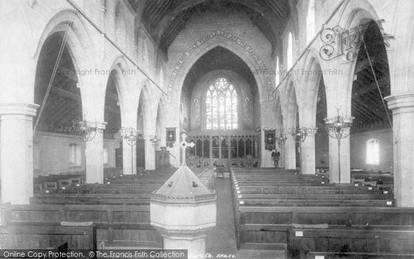 Photo of Westgate On Sea, St Saviour's Church, Interior 1899