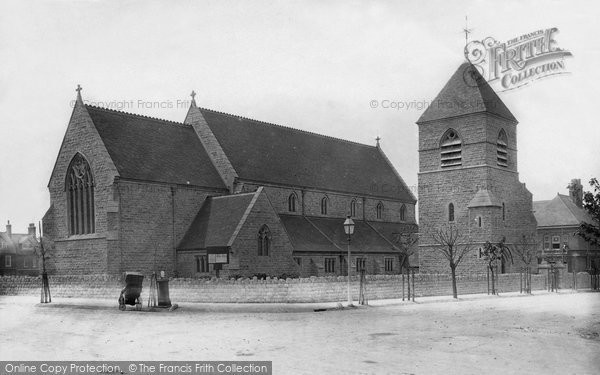 Photo of Westgate On Sea, St Saviour's Parish Church 1889
