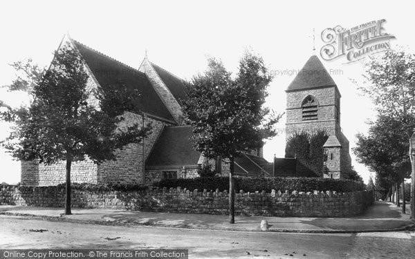 Photo of Westgate On Sea, St Saviour's Parish Church 1897